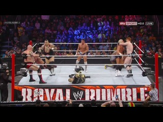 WWE Royal Rumble 2013 (HD 720p) (������� ������ �� 545TV) ����� 2/3